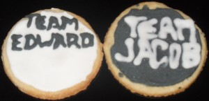 Galletas Team Edward y Jacob
