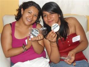 Tannia y Rosa
