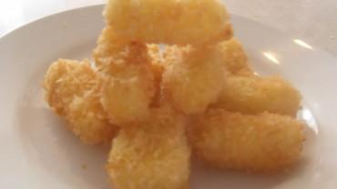 Kushiage de queso