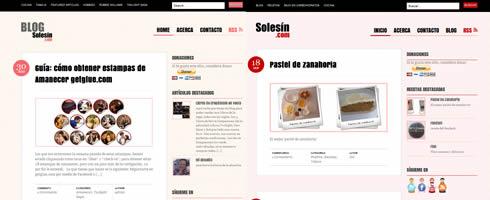 Nuevos cambios en Solesín.com